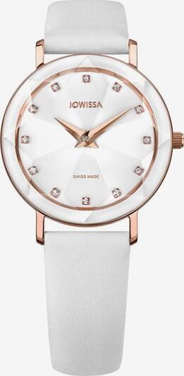 JOWISSA Quarzuhr 'Facet' Swiss Ladies Watch in rosegold / weiß, Produktansicht
