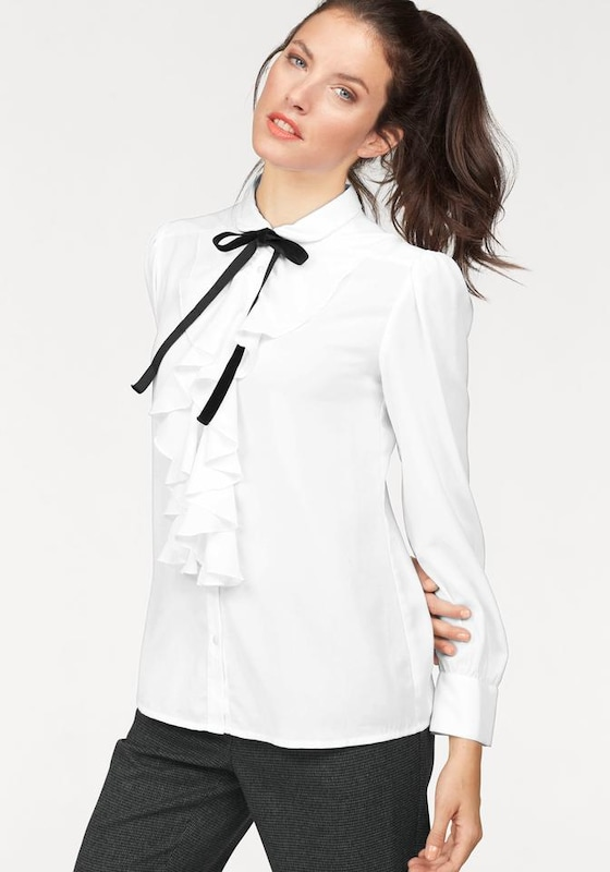 Aniston Frilly Blouse