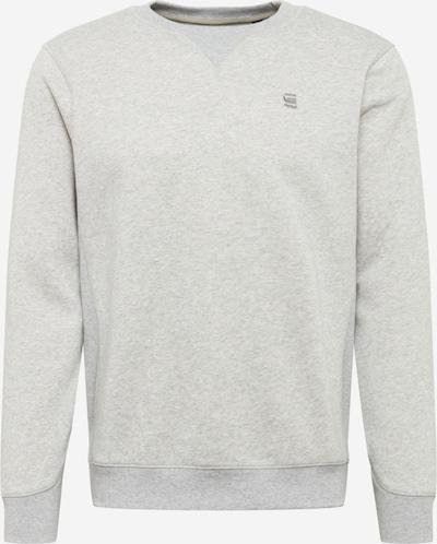 G-Star RAW Sweatshirt 'Premium' in hellgrau, Produktansicht