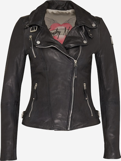 FREAKY NATION Lederjacke 'Bikerprincess' in schwarz, Produktansicht