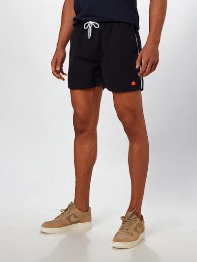 ELLESSE Shorts  'DEM SLACKERS' in schwarz: Frontalansicht