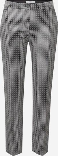BRAX Pantalon 'STYLE.MARON' in de kleur Grafiet / Lichtgrijs / Grijs gemêleerd, Productweergave