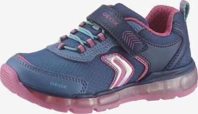 GEOX Kids Sneaker in navy / pink, Produktansicht
