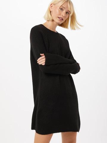 Rochie tricotat 'Carol' de la ONLY pe negru