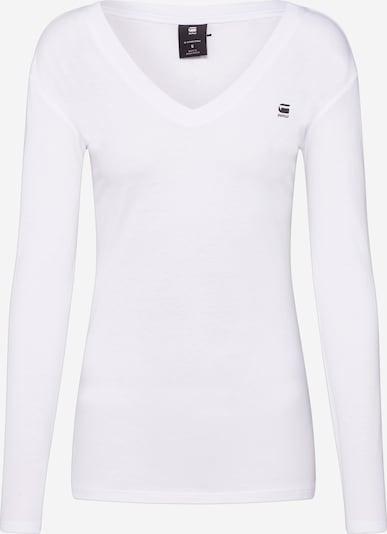 G-Star RAW Shirt 'Eyben Longsleeve' in weiß, Produktansicht