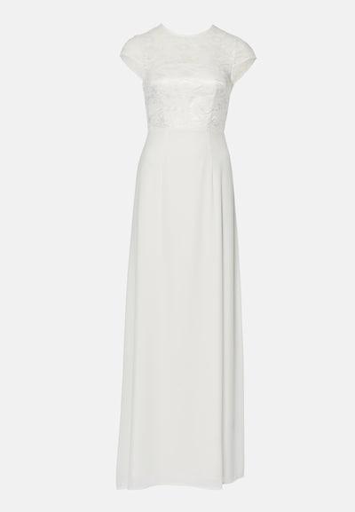 Young Couture by BARBARA SCHWARZER Kleid in weiß, Produktansicht