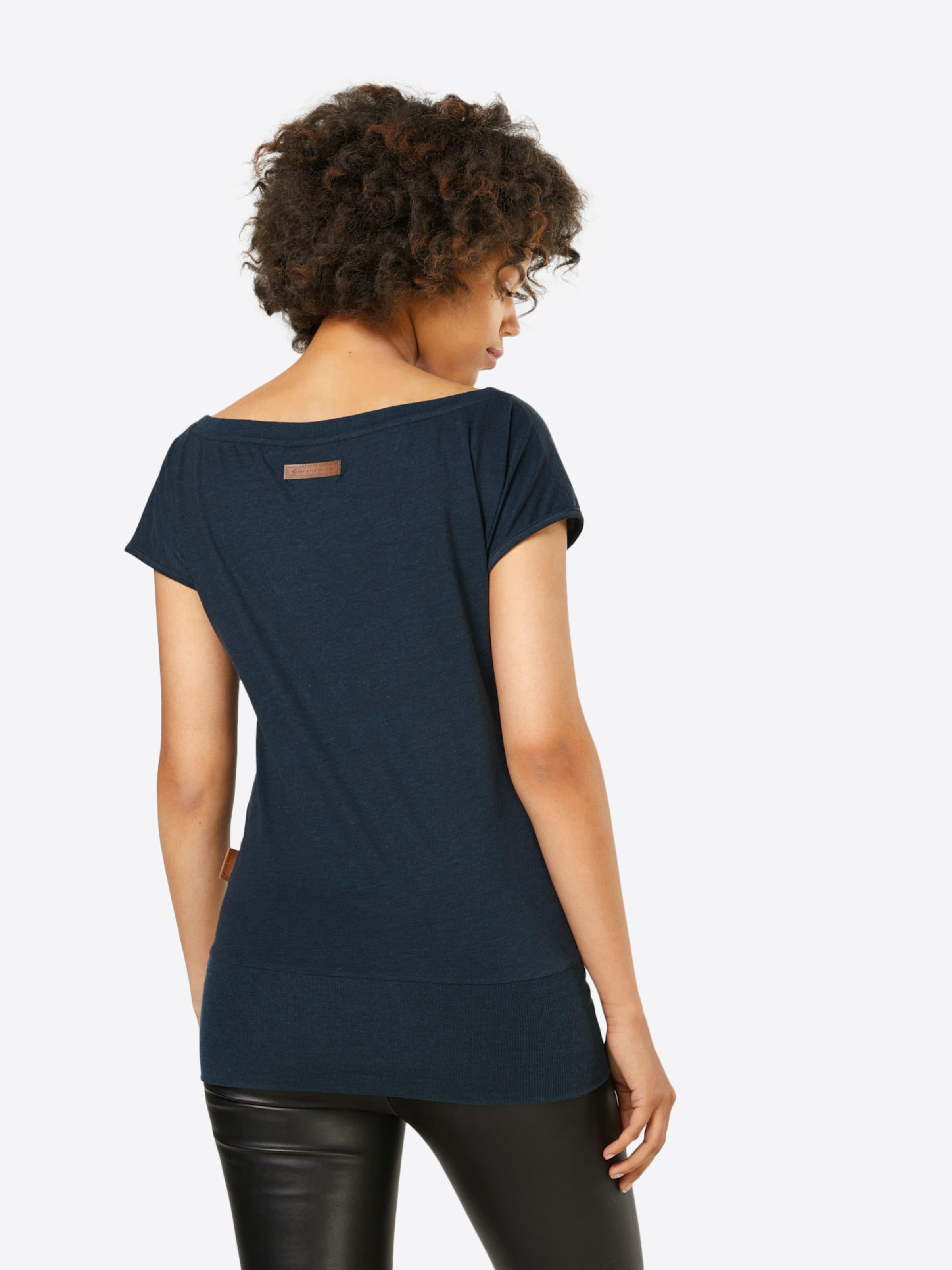 Dunkelblau 'dirty Naketano T shirt In Wolle' qVGMpSUzL