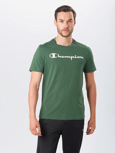 Champion Authentic Athletic Apparel Tričko - zelená / bílá: Pohled zepředu