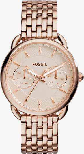 FOSSIL Multifunktionsuhr 'TAILOR' in rosegold, Produktansicht