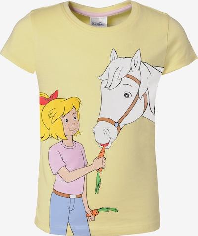 Bibi und Tina T-Shirt in hellgelb / mischfarben, Produktansicht