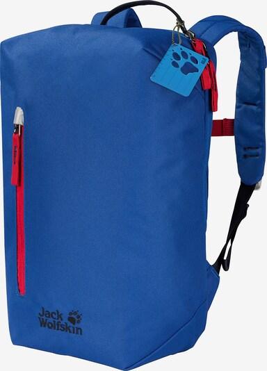 JACK WOLFSKIN Rucksack 'LITTLE BONDI 14l' in blau / rot, Produktansicht