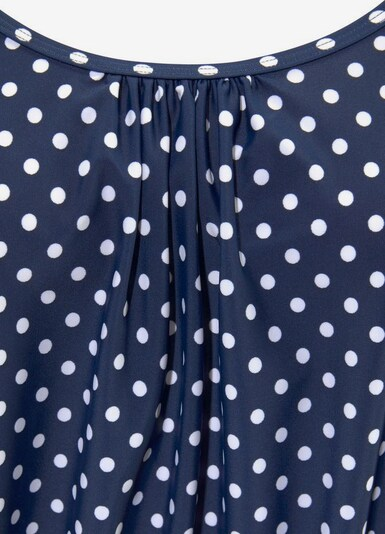 LASCANA Tankini in blau / weiß, Produktansicht