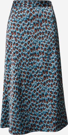 Fabienne Chapot Sukňa 'Claire' - modrá / hnedá, Produkt