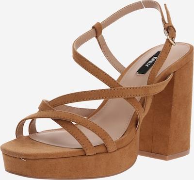 ONLY Sandale in braun, Produktansicht