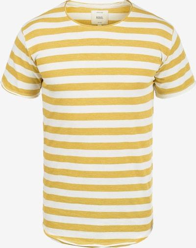 Redefined Rebel Rundhalsshirt 'Milo' in gelb, Produktansicht