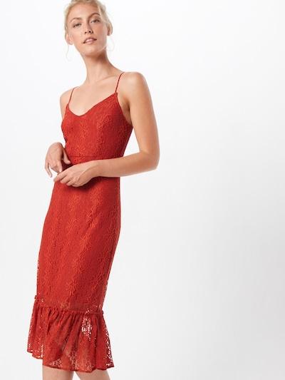 VILA Kleid in rot, Modelansicht