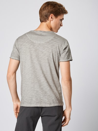 Key Largo T-Shirt 'MT REBELS UNITED' en gris / argent: Vue de dos