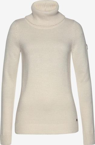 KangaROOS Pullover in Weiß