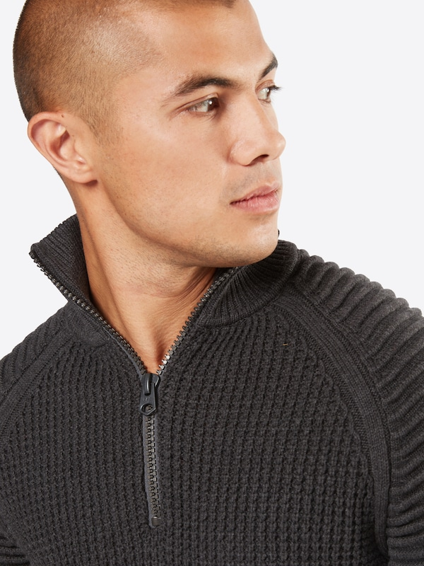 G-STAR RAW Pullover 'Suzaki 1/2 zip knit l/s'