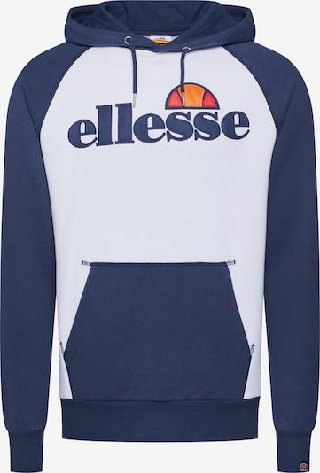 ELLESSE Sweatshirt 'TALIAMENTO' in marine blue / White, Item view