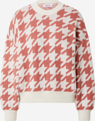 EDITED Pullover 'Colleen' in pink / offwhite, Produktansicht