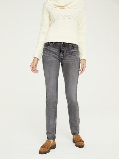 heine Jeans in de kleur Grijs, Modelweergave