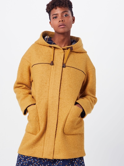 EDC BY ESPRIT Manteau mi-saison 'Duffle Coat' en jaune, Vue avec modèle