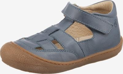 NATURINO Sandale 'Wad' in taubenblau / braun, Produktansicht