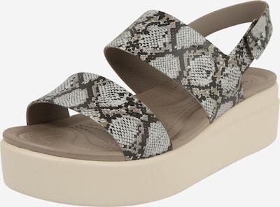 Crocs Sandalen met riem 'Brooklyn' in de kleur Beige, Productweergave