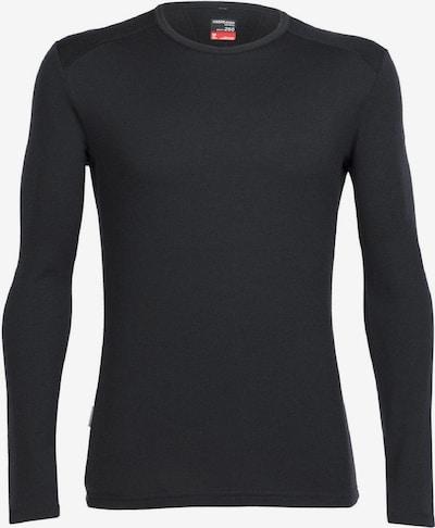 Icebreaker Shirt 'Tech Crewe' in schwarz, Produktansicht
