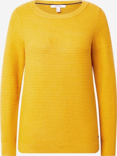 ESPRIT Trui 'Ottoman' in de kleur Goudgeel, Productweergave