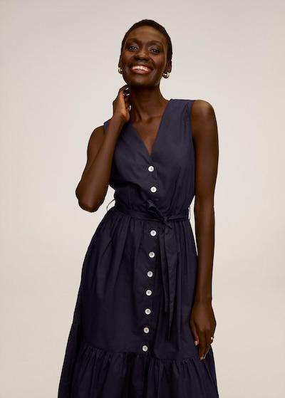 MANGO Kleid in navy, Modelansicht