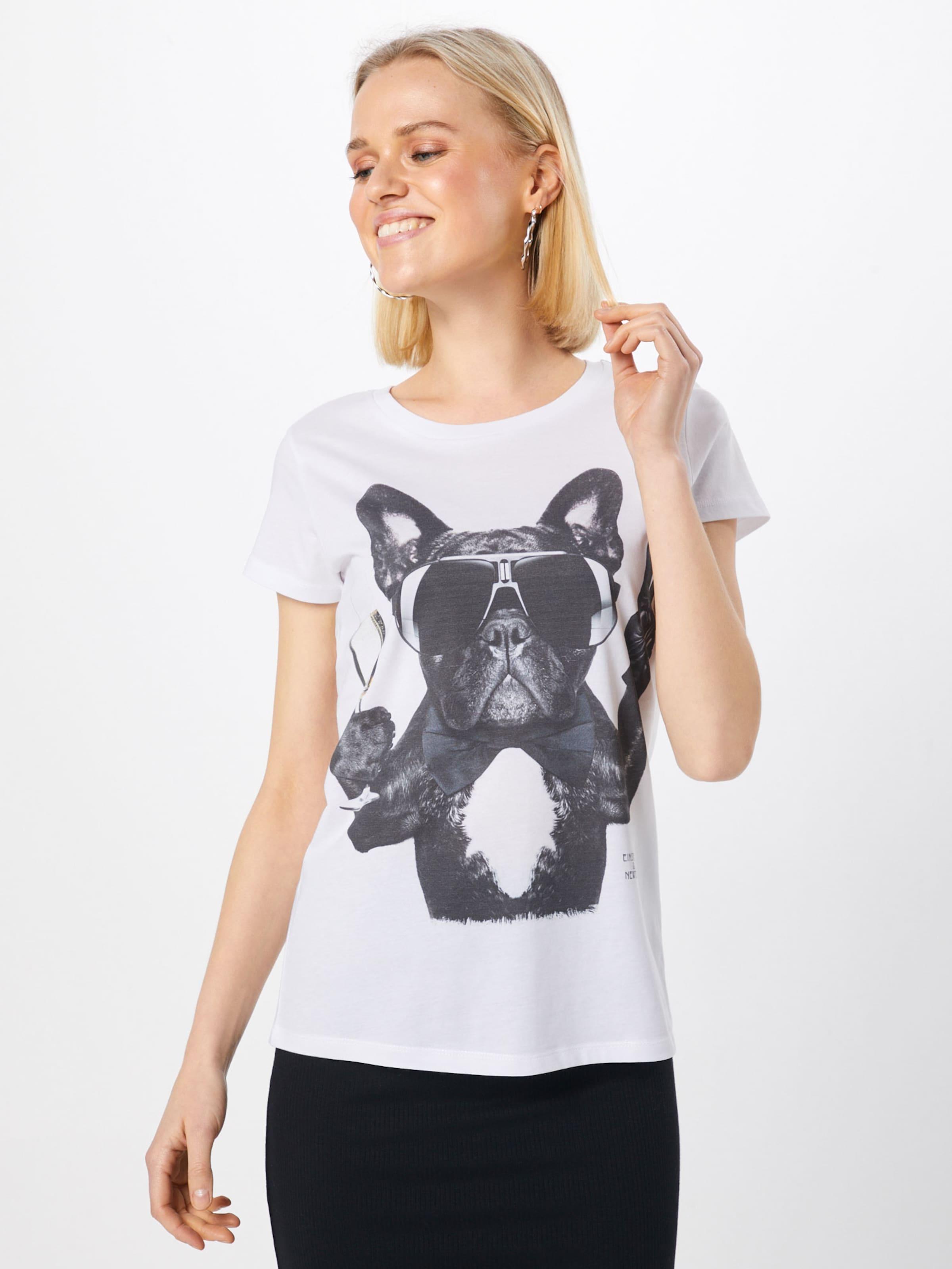 'champagne SchwarzWeiß T In shirt Einsteinamp; Newton Dog' ED9H2I