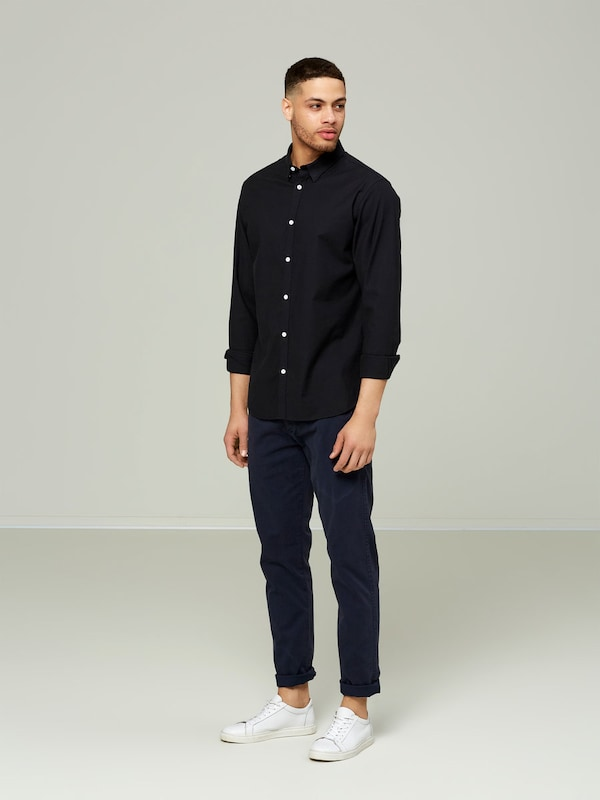 SELECTED HOMME Slim-Fit-Langarmhemd