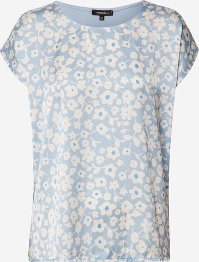 MORE & MORE Shirt in opal / naturweiß, Produktansicht