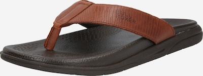 BULLBOXER Slipper in braun / schwarz, Produktansicht