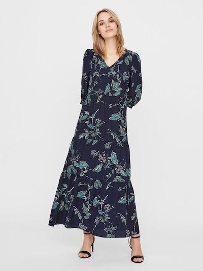 VERO MODA Sukienka koszulowa w kolorze ciemny niebieski / mieszane kolorym, Podgląd na modelu(-ce)