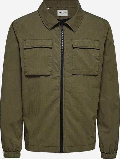 SELECTED HOMME Von der Workwear inspiriertes Jacke in khaki, Produktansicht