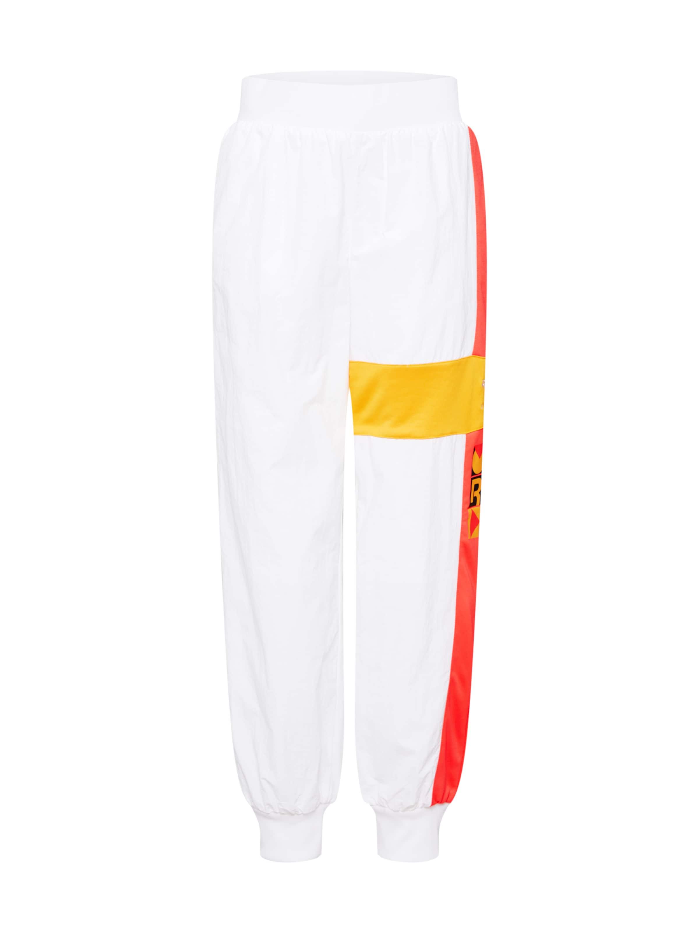 Pantalon Pants' Reebok Blanc Classic JauneOrange Noir 'gigi Track Foncé En 0yOPmnN8vw
