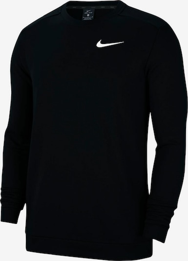 NIKE Sweatshirt »Men's Fleece Training Crew« in schwarz, Produktansicht