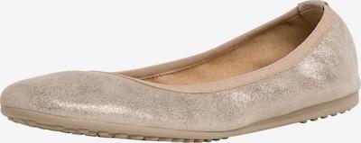 TAMARIS Ballerina in beige / silber, Produktansicht