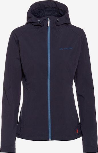 VAUDE Softshelljacke 'Fano' in dunkelblau, Produktansicht