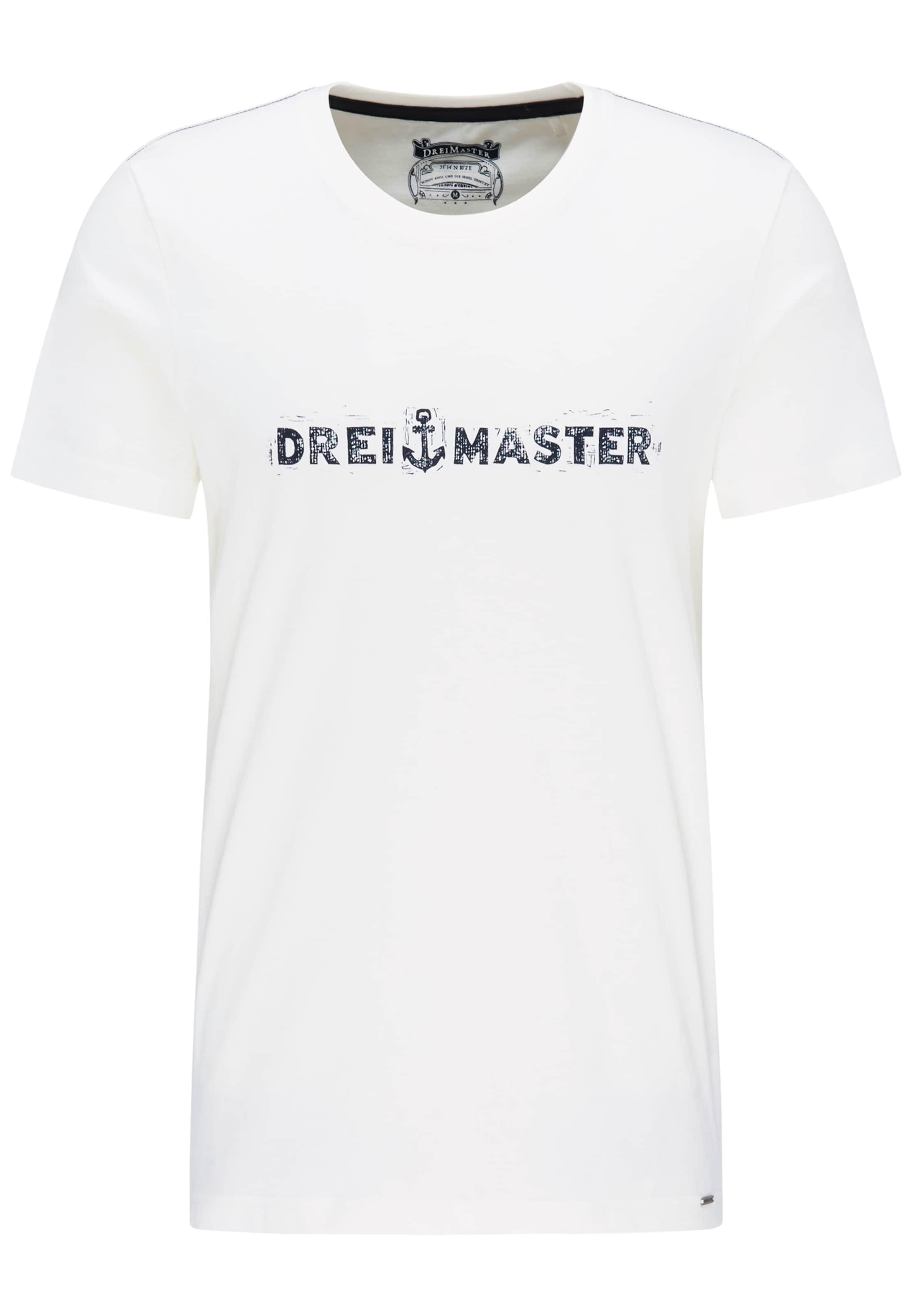 T En Dreimaster shirt Dreimaster NoirBlanc Aq34j5cRL