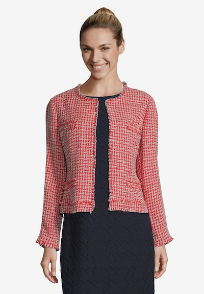 Betty Barclay Blazer in rosé / rot, Modelansicht
