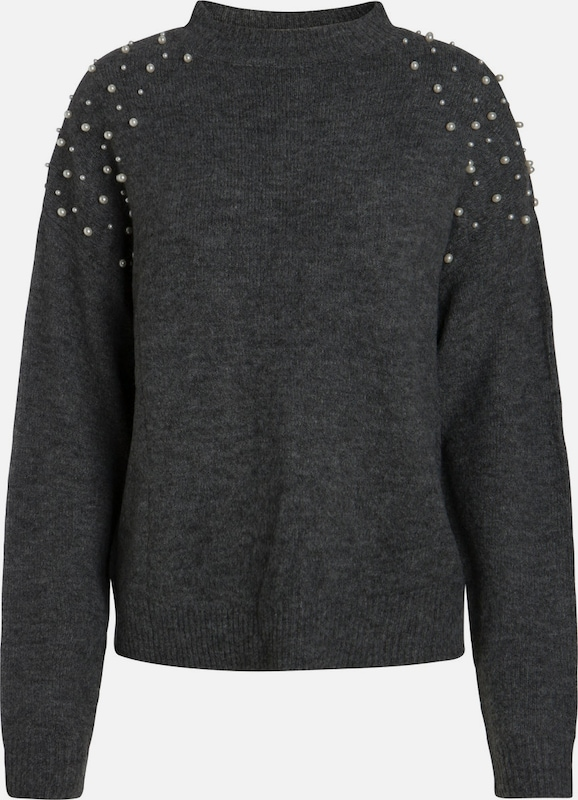 Long Sleeved Pullover Pearl Pieces