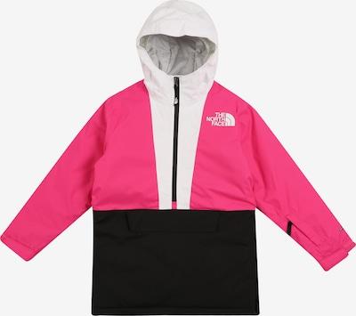 THE NORTH FACE Jacke 'Y FREEDOM' in pink / schwarz / weiß, Produktansicht
