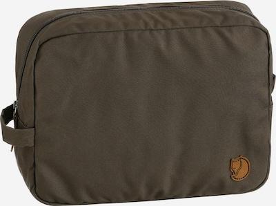 Fjällräven Toiletry Bag in Brown / Green / Dark green, Item view