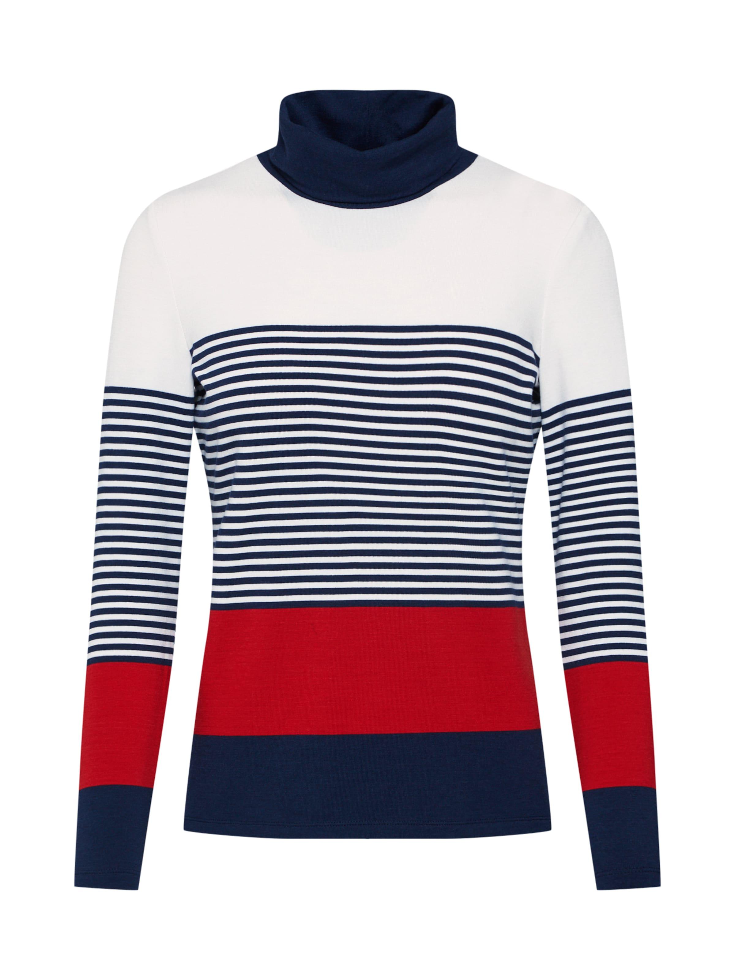 Esprit Rouge Marine T En CrèmeBleu shirt 45RAjL