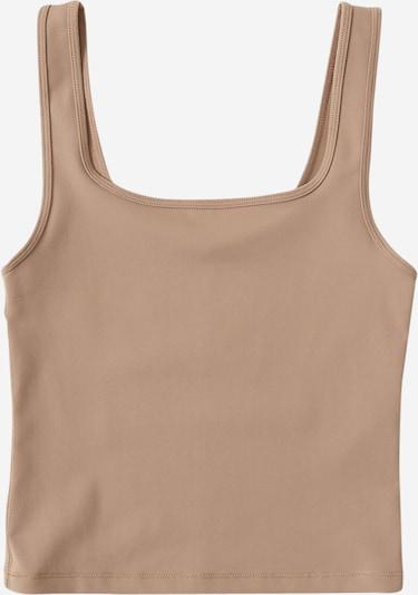 Abercrombie & Fitch Top 'Bare' w kolorze jasnobrązowym, Podgląd produktu