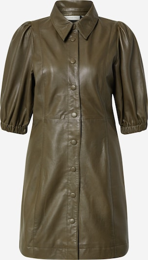 Copenhagen Muse Shirt dress 'ROYAL' in Olive, Item view